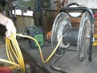 Kabelroller - Anschluss-